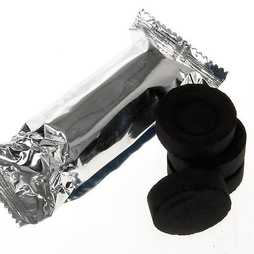 Carvão de acendimento instantâneo em tabletes herméticas de 5 unidades 1