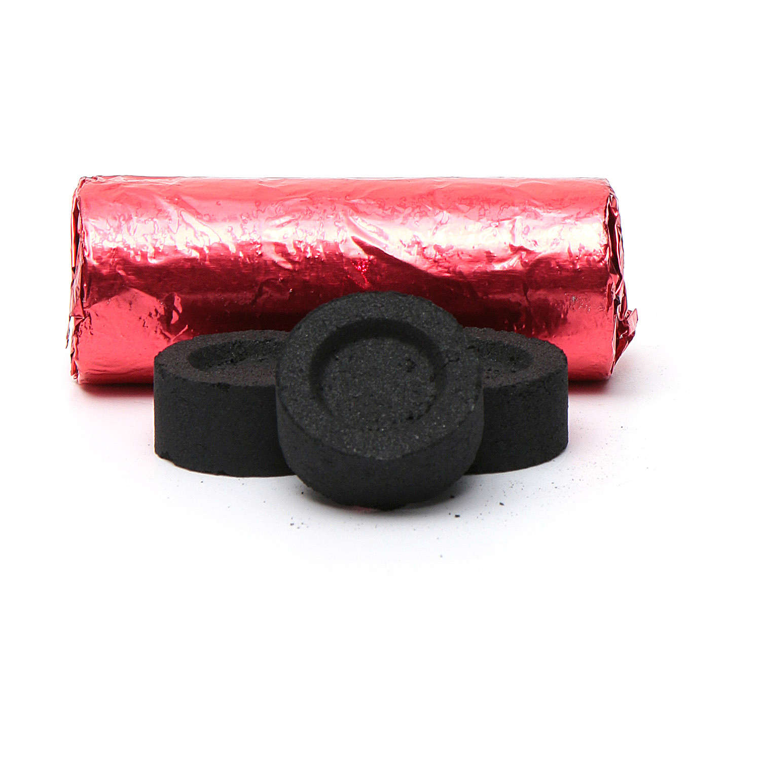 Greek incense charcoals, 22mm -144 tablets.- 40 min 3