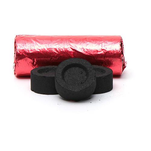 Carboncillos Griegos para Incienso, diám. 2,2 cm - 144 unidades - 40 min. 2