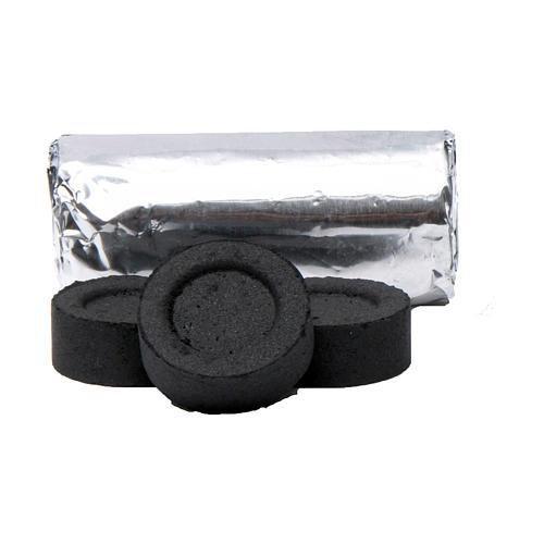 Greek incense charcoals 2,7 cm diameter-114 pieces-45 min 2