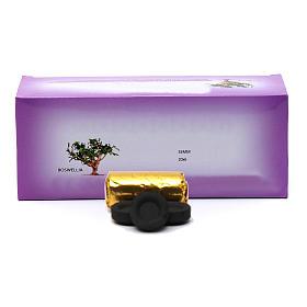 Charbons pour encens: Charbons à encens grecs diam. 3,3 cm - 120 pcs - 50 min