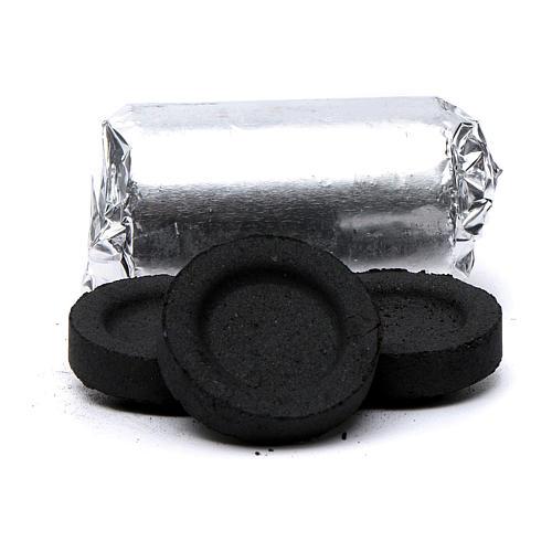 Greek incense charcoals 4cm diameter - 84 pcs - 60 min 2