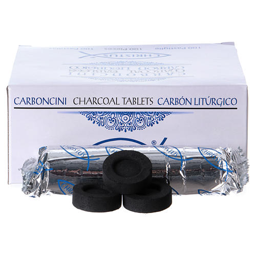 Incense charcoals 3,3 cm 100 tablets 2