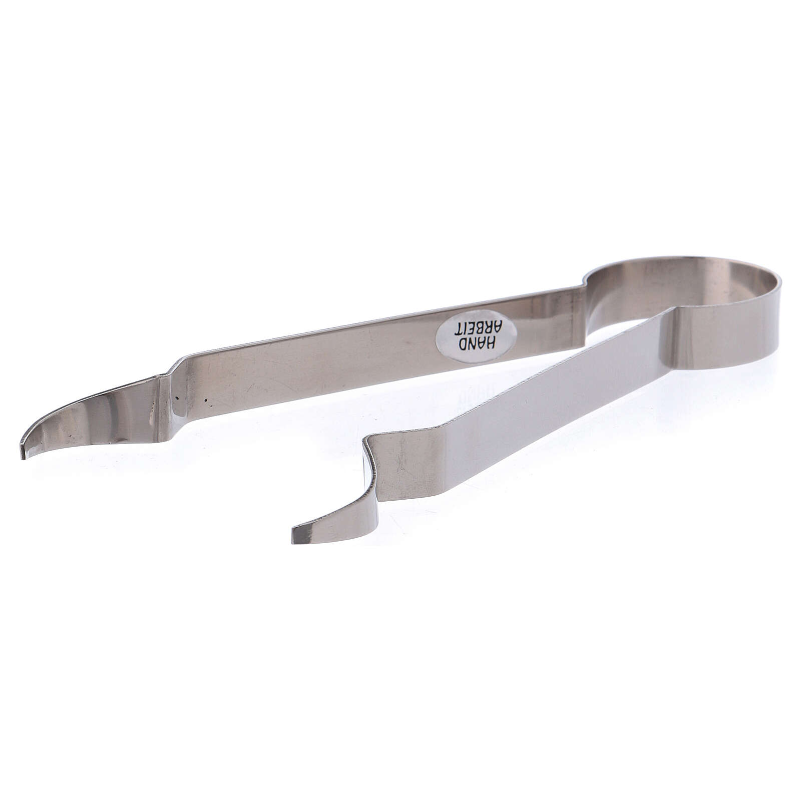 Brass charcoal tongs 7 in 3