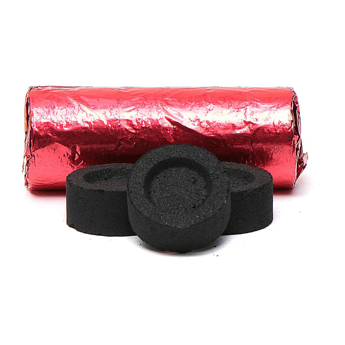 Carboncillos griegos 22 mm rápido encendido 140 piezas no humo 3