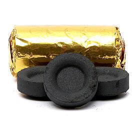 Carboncillos griegos 33 mm rápido encendido 120 piezas sin humo s2