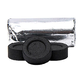 Charcoal for incense 0.1 in diameter 120-piece pack s2