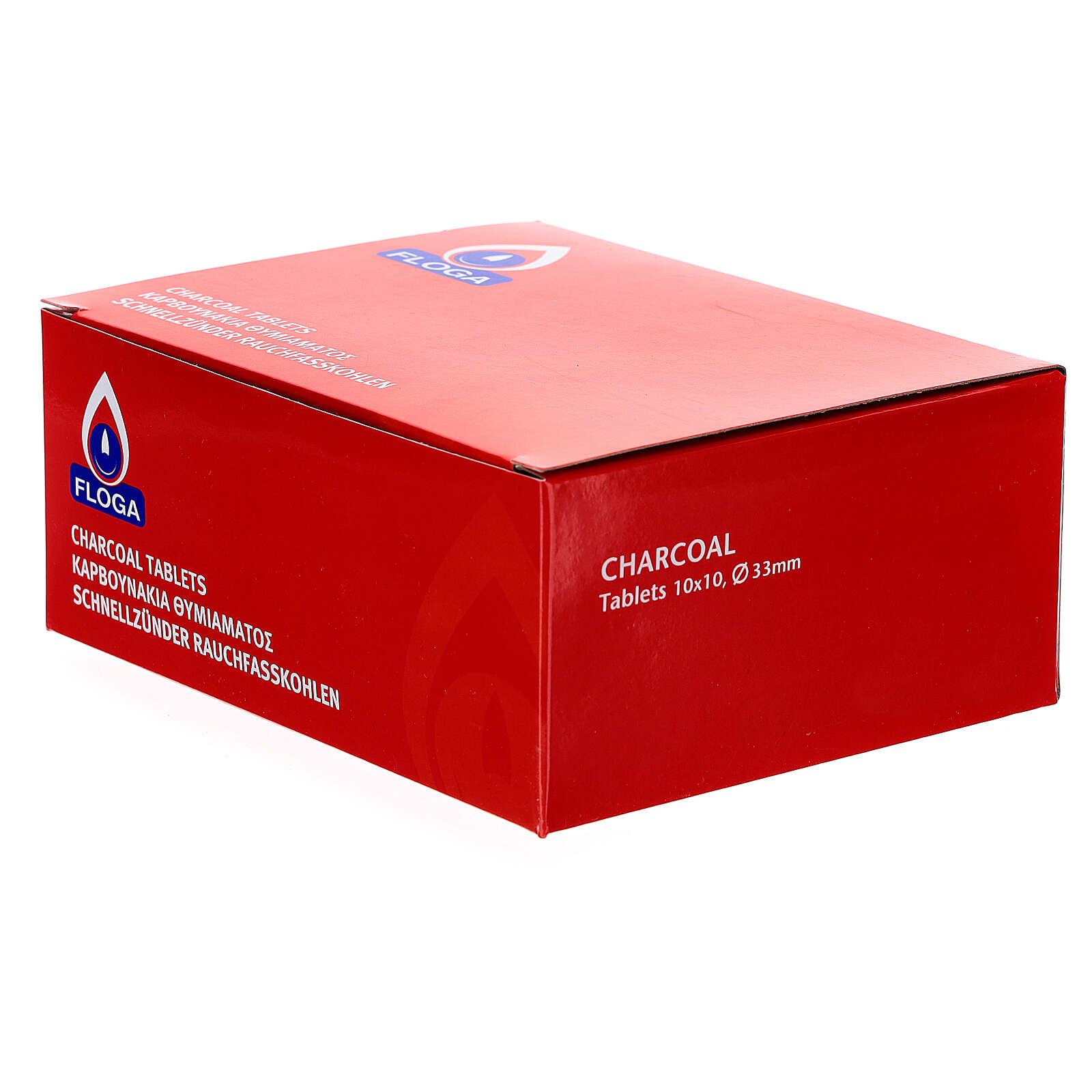 Carboncillos para incienso 33 mm 100 piezas 3