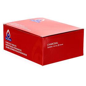 Carboncillos para incienso 33 mm 100 piezas s3
