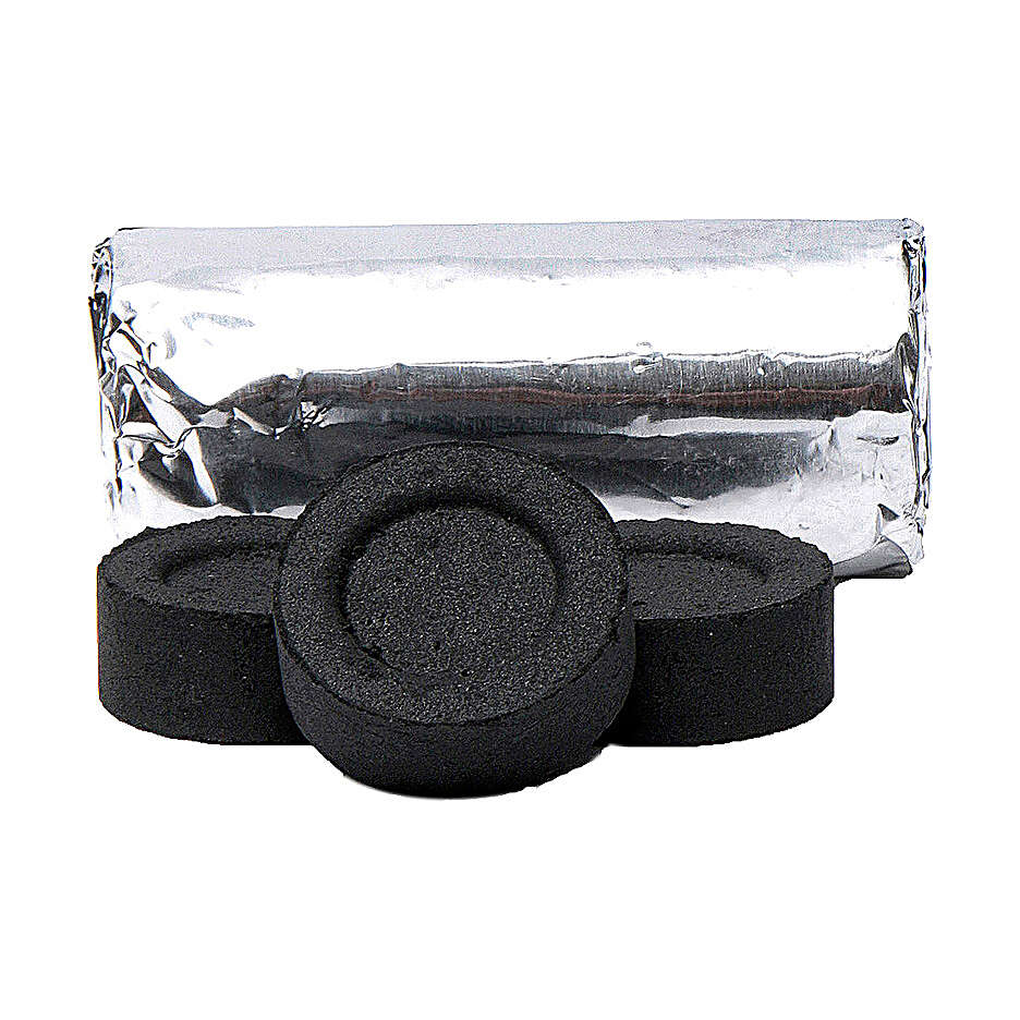 Carboncini incenso 40 mm confez da 100 pz 3