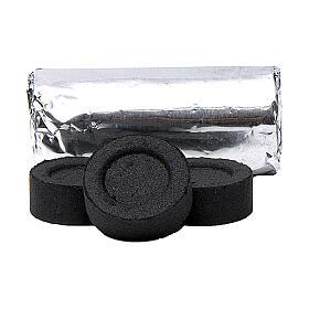 Carboncini greci 40 mm a rapida accensione 100 pz no fumo s2