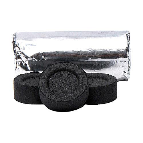 Carboncini greci 40 mm a rapida accensione 100 pz no fumo 2