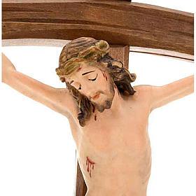 Crucifix, décoration croix courbée s2