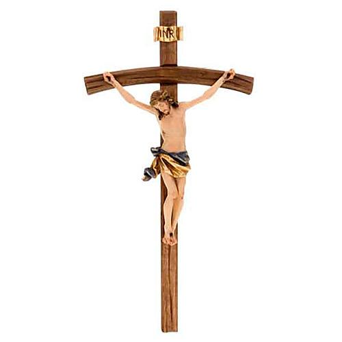 Crucifix, décoration croix courbée 1