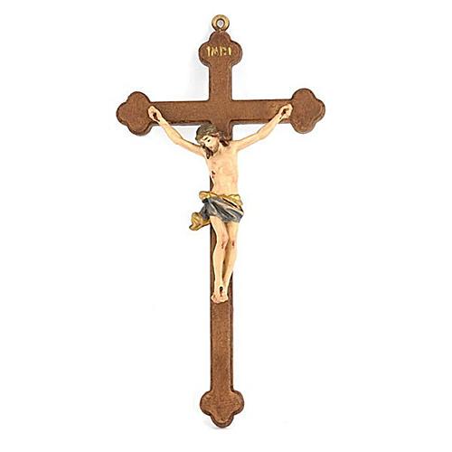 Crucifijo trébol pequeño 1