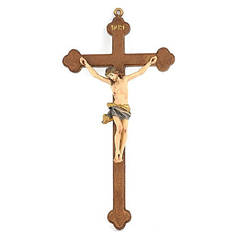 Small trifoiled crucifix 1