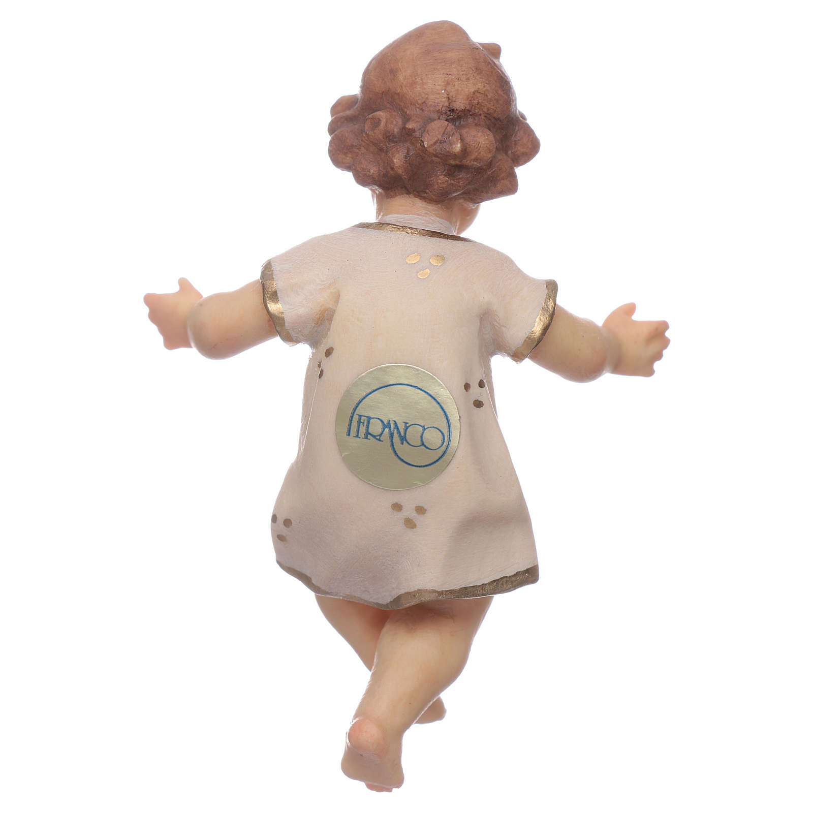 Gesù Bambino legno cm 7 3