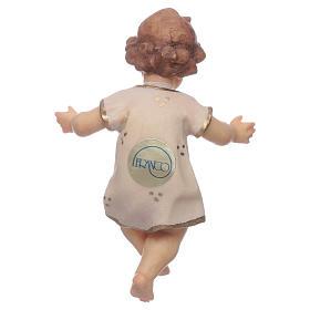Gesù Bambino legno cm 7 s2
