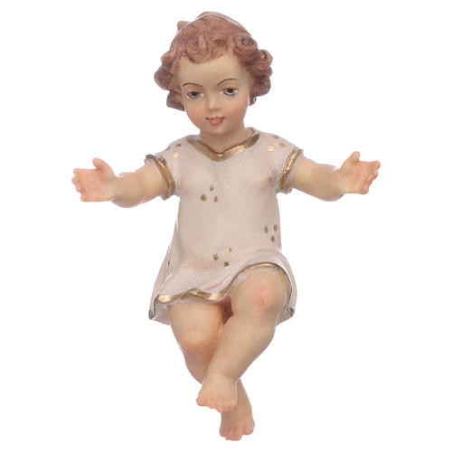 Gesù Bambino legno cm 7 1
