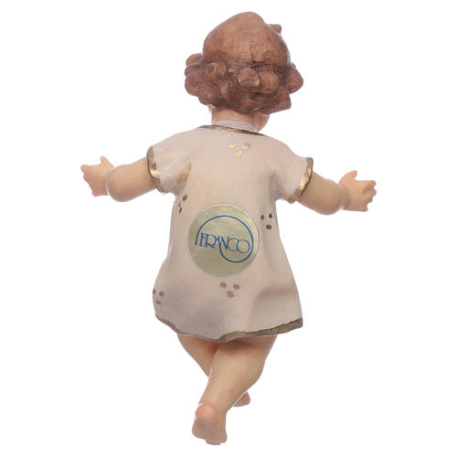 Gesù Bambino legno cm 7 2
