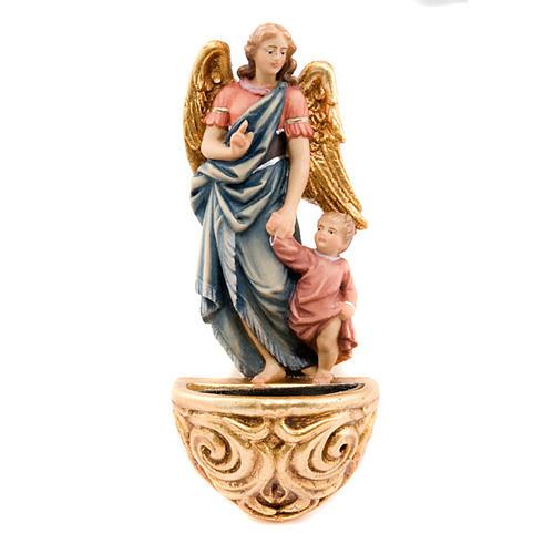 Aspersorium anioł stróż drewno klonowe 1