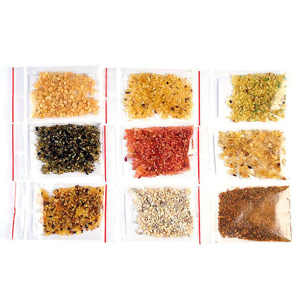 Liturgical incense samples 3
