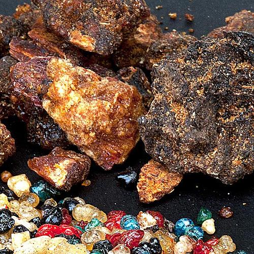 Ethiopian incense samples 1