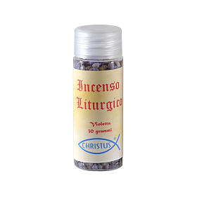 Liturgical incense violet 30g s2