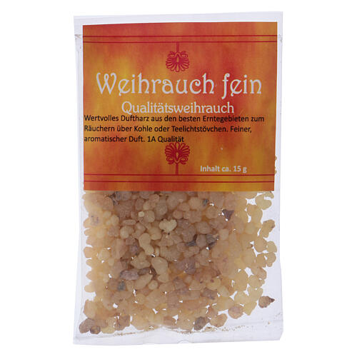 Fine incense sample with aromatic blend 15 gr 1