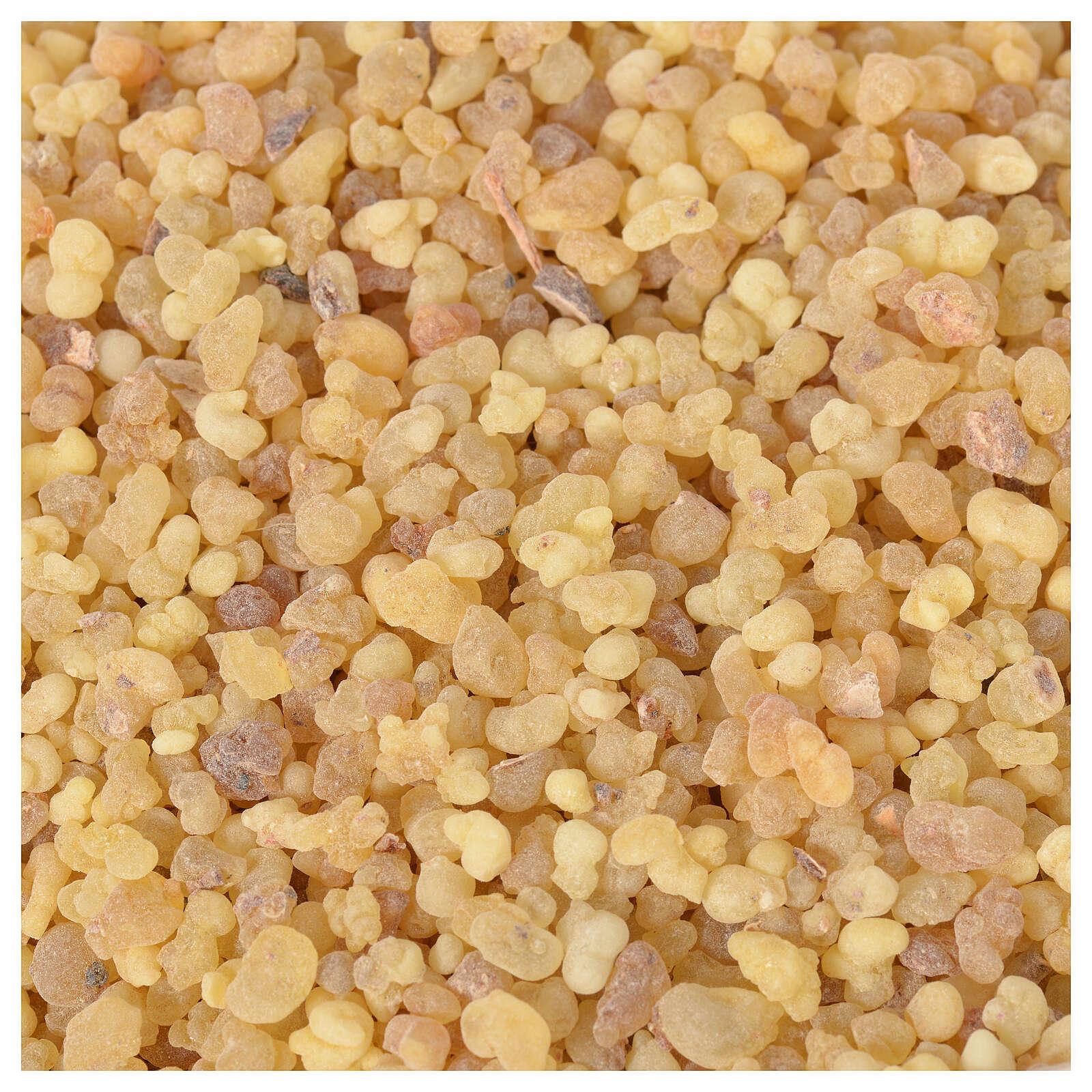 Amostra 10 gr de incenso etíope puro em grãos Olibanum ref. CO000096 3