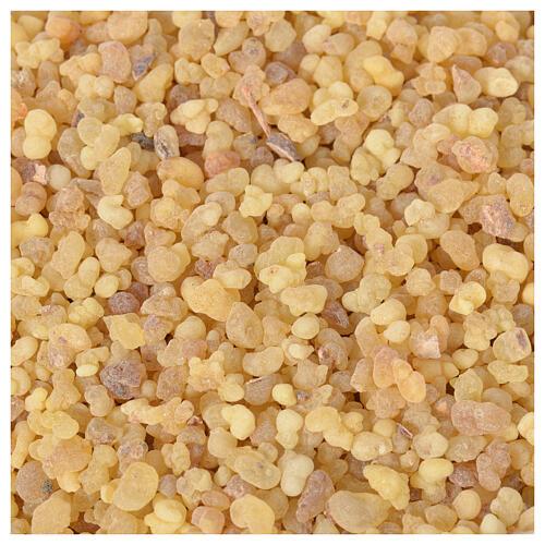 Amostra 10 gr de incenso etíope puro em grãos Olibanum ref. CO000096 1