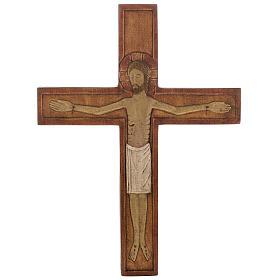 Crucifijos y cruces de madera: Cristo en cruz 32 cm