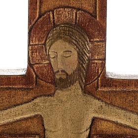 Cristo en cruz 32 cm s2