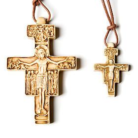 Wisiorek krzyż święty Damian s1