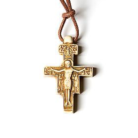 Wisiorek krzyż święty Damian s2