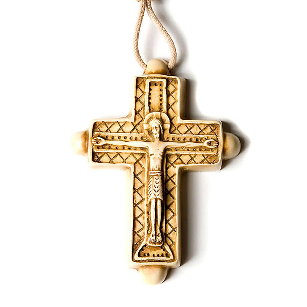Croix pendentif,couleur ivoire 4