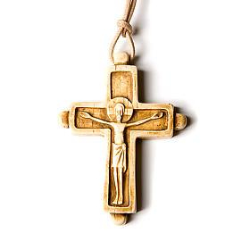 Croce pendente color avorio s2