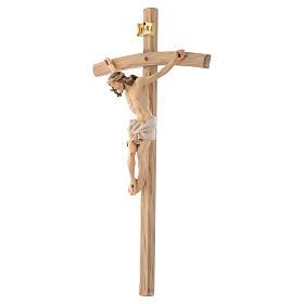 Corpo di Cristo  veste bianca croce curva s2