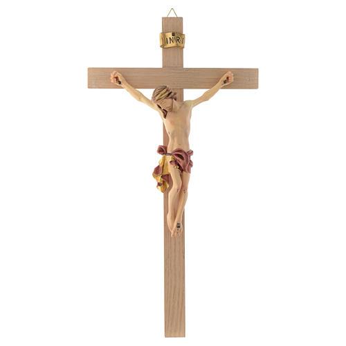 Cuerpo de Cristo vestido rojo y oro cruz recta 1
