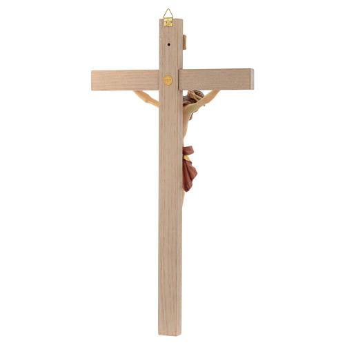 Cuerpo de Cristo vestido rojo y oro cruz recta 4