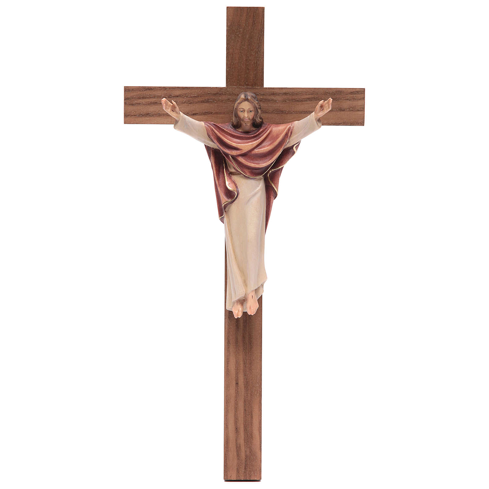 Christ King on straight cross 4