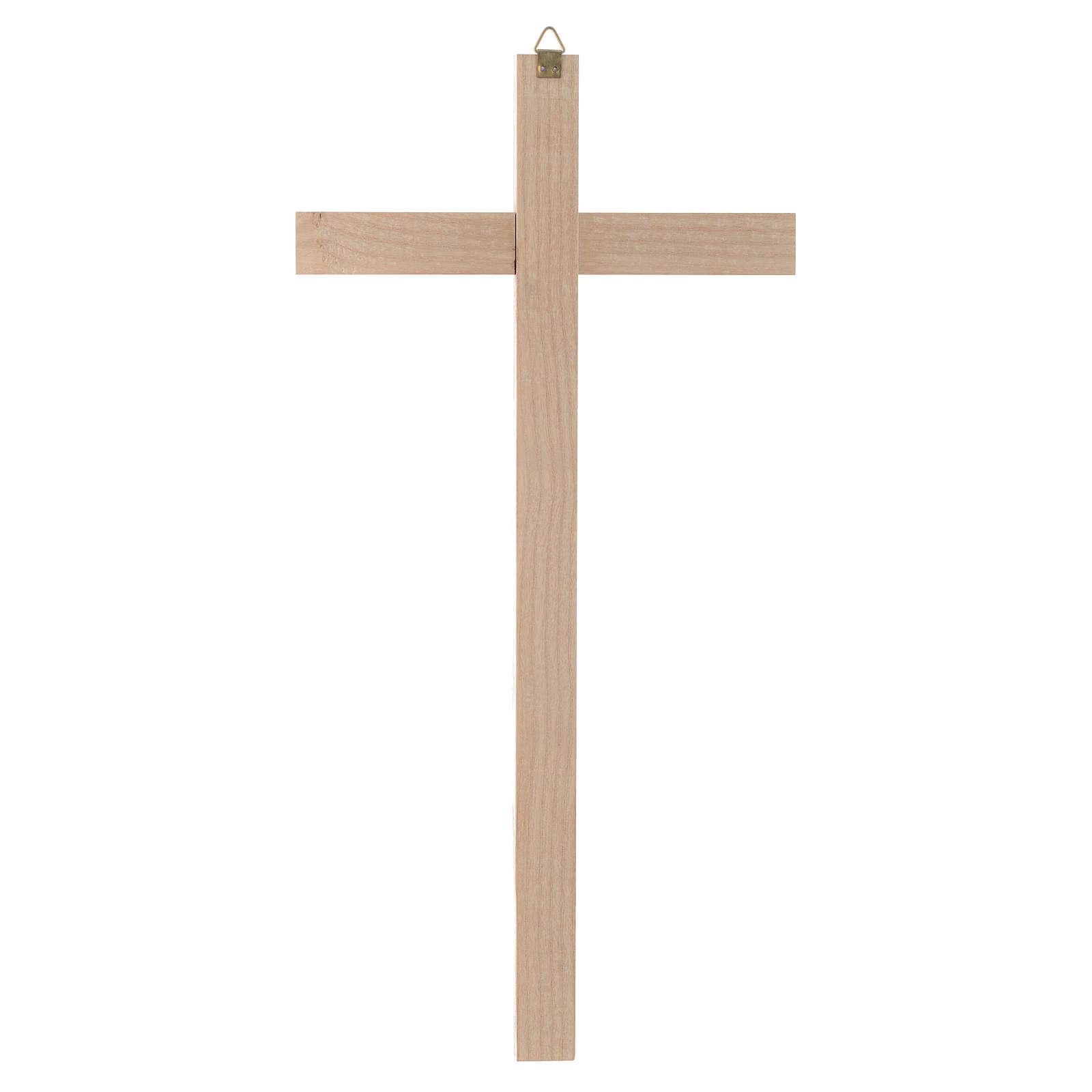 Kreuz nicht kurve Holz 4
