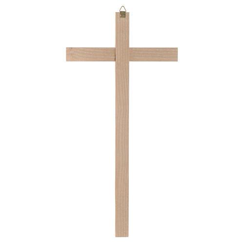 Croix en bois naturel 2