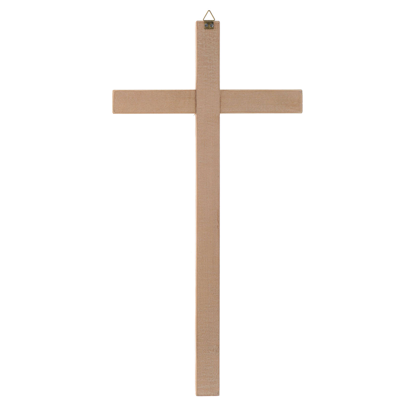 Straight cross in natural wood 4