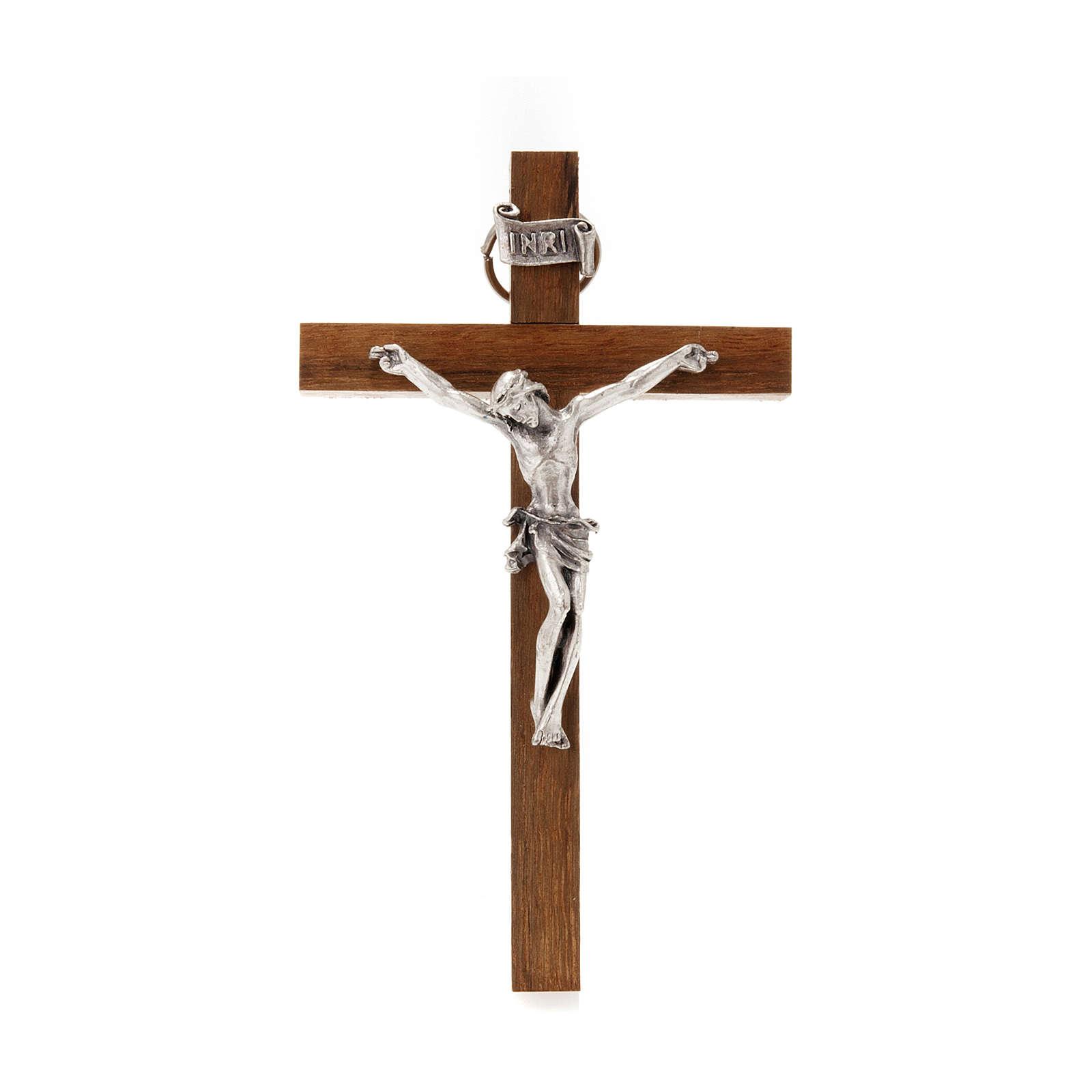 Wooden crucifix 10x6 cm 4