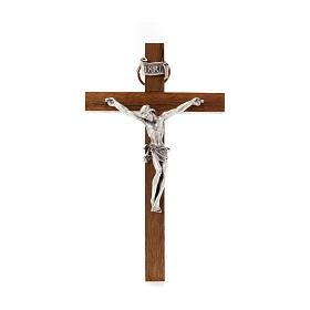 Wooden crucifix 10x6 cm s1