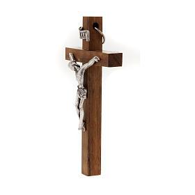 Wooden crucifix 10x6 cm s2
