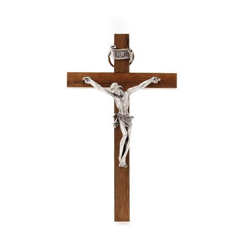 Wooden crucifix 10x6 cm 1