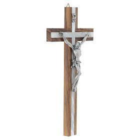 Crucifijo de madera y simil nácar s3