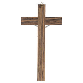 Crocefisso legno simil madreperla s4